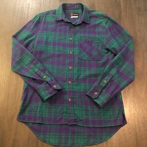 Original Use 🔴 Classic Plaid Button Front Shirt